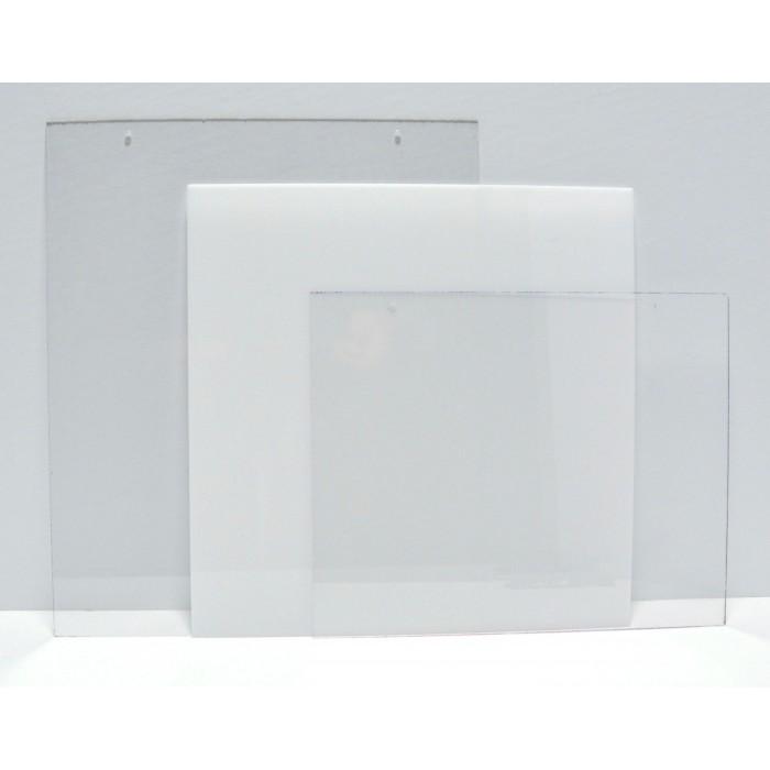 """CBW, Rectangle vertical 16"""" x 20"""" en acrylique clair avec trous  # C1R-1620V"""