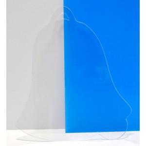 "CBW, Cloche 9"" en acrylique clair  # C1N-068-090"