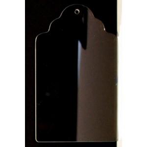 """CBW, Étiquette  4.5"""" en acrylique clair  # C1T-010-045"""