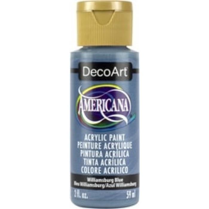 DecoArt, Americana Peinture Acrylique 2oz Bleu Williamsburg DA040