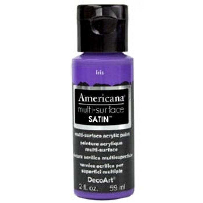 DecoArt, Americana multi-surface Satin 2oz Iris DA531