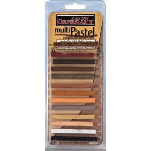 General Pencil, General Multi Pastel 12 Couleurs #940012ABP