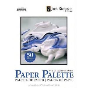 """Jack Richeson, Palette Papier Jetable 12"""" x 18"""", bloc de 50 feuilles #101041"""
