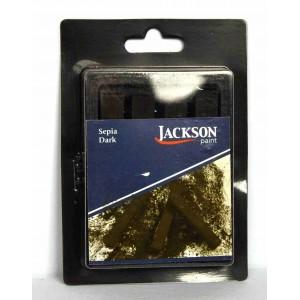 Jack Richeson,Jackson bâtonnets de pastel à croquis, sépia foncé, ensemble de 4 #400172