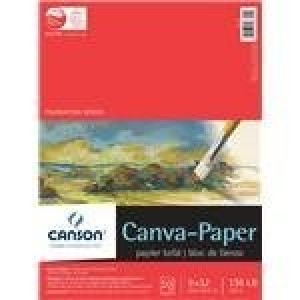 "Canson, Tablette Papier-Canva 9"" x 12"" #702-145"