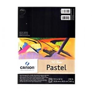 "Canson, Tablette Mi-Teintes Pastel 9"" x 12"" #702-2050"