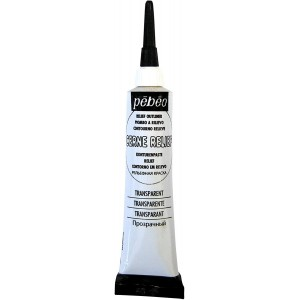 Pébéo, Cerne Relief avec Ajutage Transparent 20ml #773620