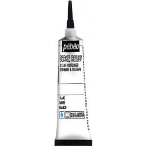 Pébéo, Cerne Relief avec Ajutage Blanc 20ml #778000
