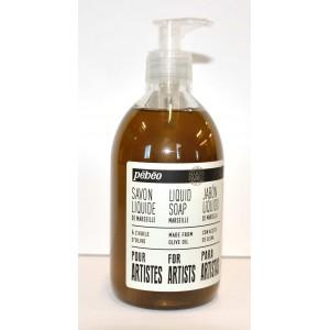 Pébéo, Savon liquide de Marseille à l'huile d'olive, bouteille de 500ml #801220